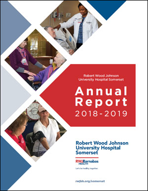 RWJUH Somerset 2018 Annual Report