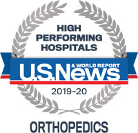 High Performing Hospitals - Orthopedics