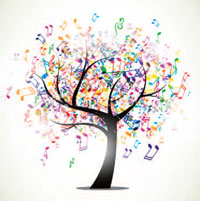 music and memory tree